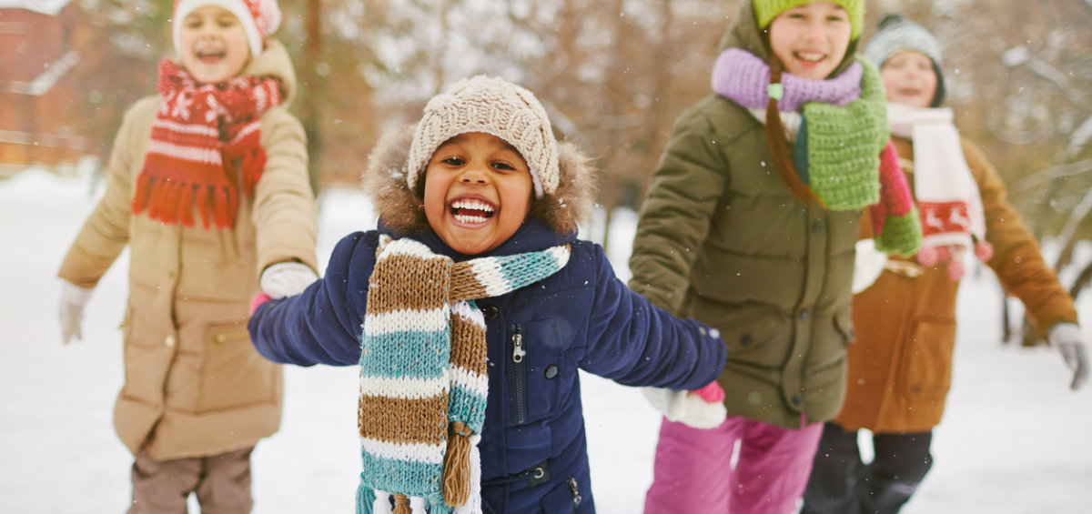 children's skin care during winter